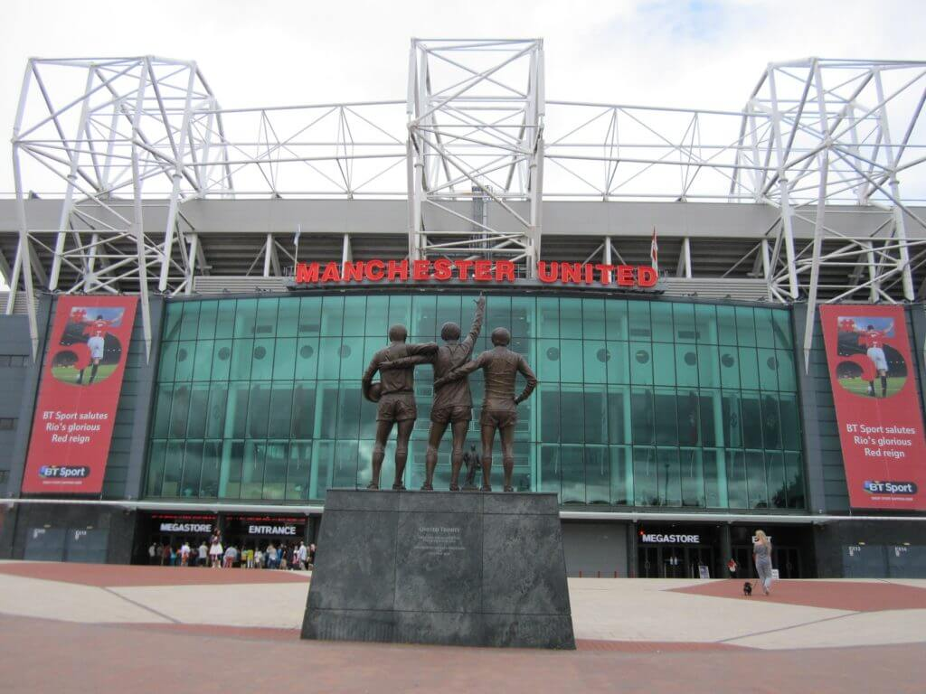 Manchester's Old Trafford Stadium, where the ATC Conference was held