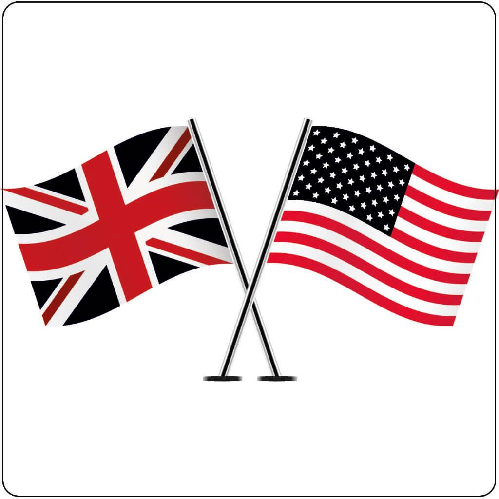 Localisation US UK