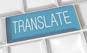 Text translated for agency clients