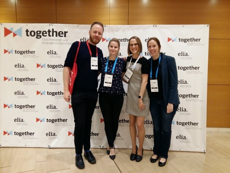 Hannah and Jess at the Elia Together Conference 2018